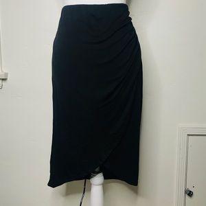 Max Studio Black Tulip Skirt